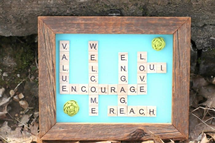Words With Friends Craft Project DIY
