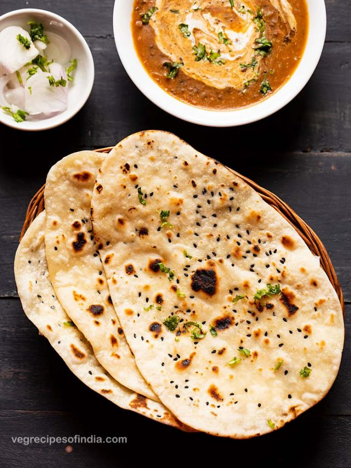 Easy naan bread recipe made without yeast