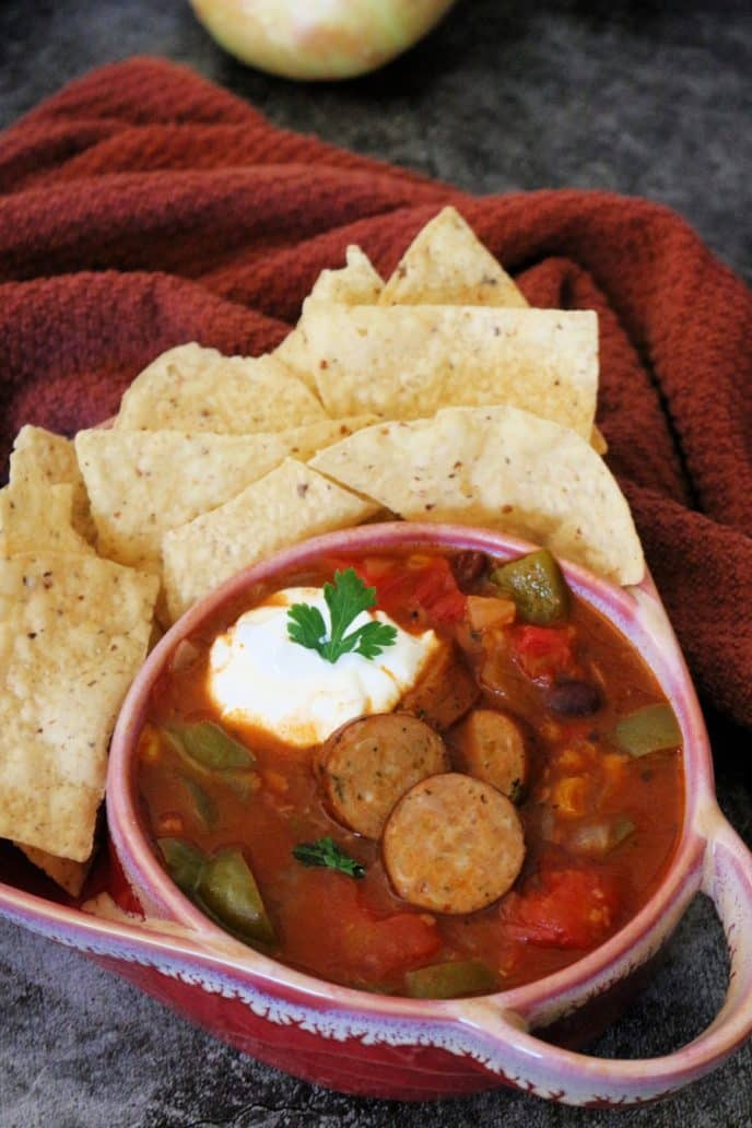 taco night recipe plated chicken taco soup