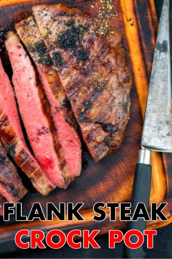 Flank steak in the crock pot