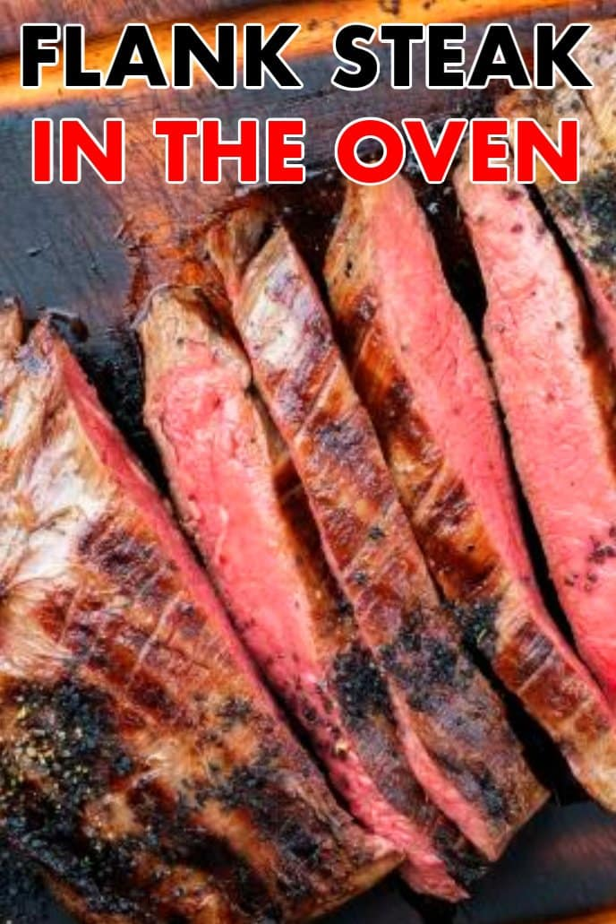 How to cook flank steak in oven - cooking flank steak in the oven under the broiler.