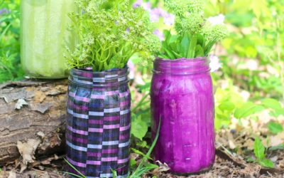 20 Mason Jar Crafts – DIY Flower Vases