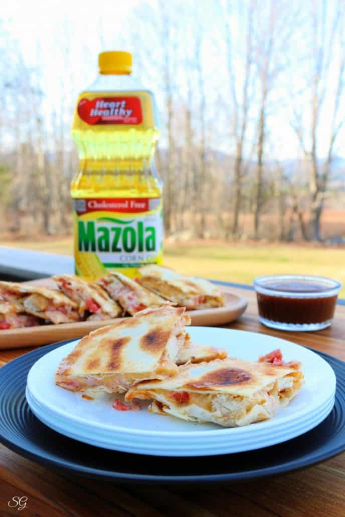 Marinade recipe for chicken quesadillas