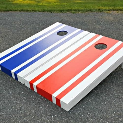 How to build cornhole boards, tutorial for regulation conrhole board construction