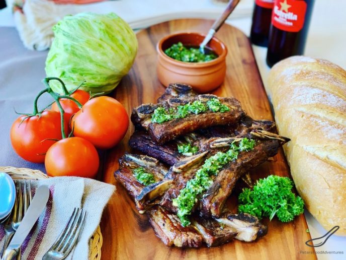 Argentine Asado Style Beef Ribs