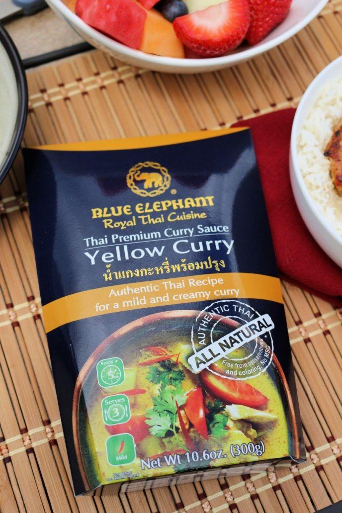 Blue Elephant Curry for Pork Chops