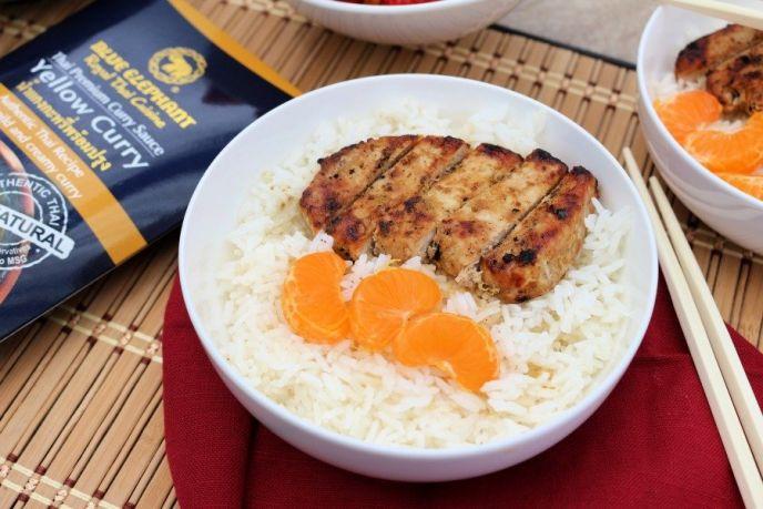 Grilled Curry Pork Chop Recipe