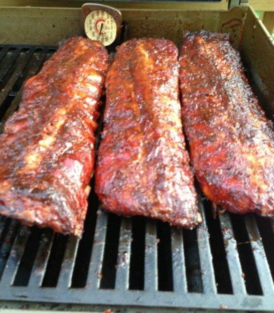 Slow cooked award winning BBQ ribs recipe