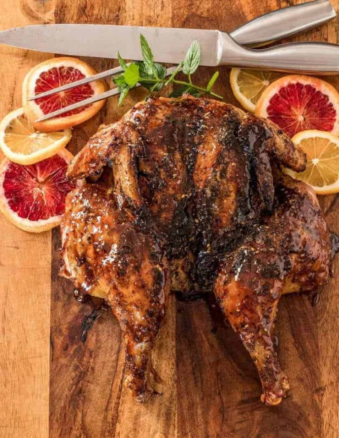 Butterflied and Grilled Za'atar Chicken