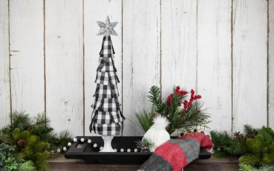 Buffalo Plaid Christmas Decoration