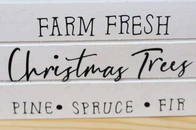 Christmas Farm Fresh Christmas Trees Cricut Design for Free