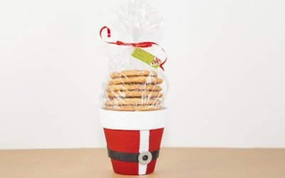 Christmas Gift For Neighbors – Cookie Bucket