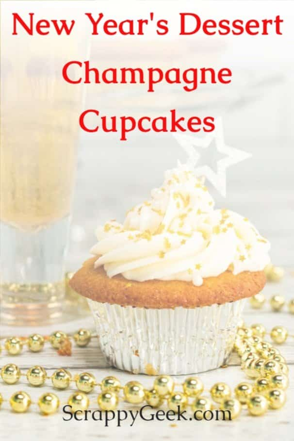 New Year's Dessert Champagne Cupcakes - Making Champagne Cupcakes from Scratch for New Years Eve Party