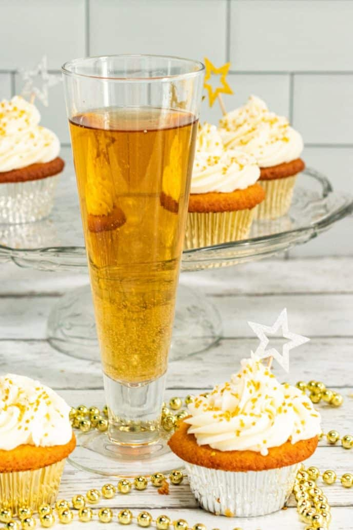 Champagne for champagne cupcakes recipe