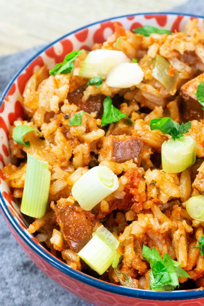 Jambalaya recipes are delicious and this one is perfect and easy to make in the oven