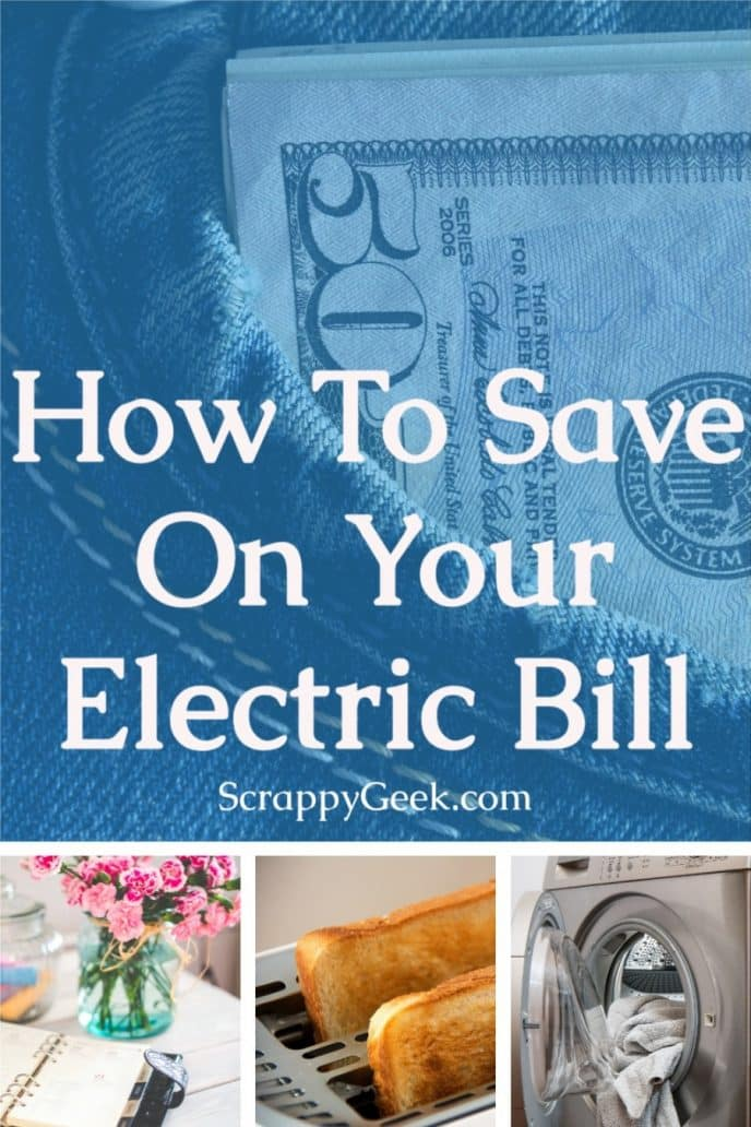 How to save on the electric bill, find different ways to save money on your home electricity.