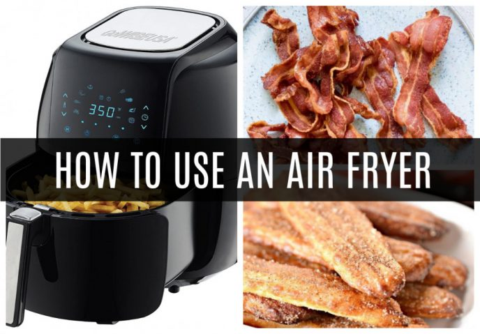 How to use an air fryer, plus easy recipes for beginners and those new to using an air fryer.