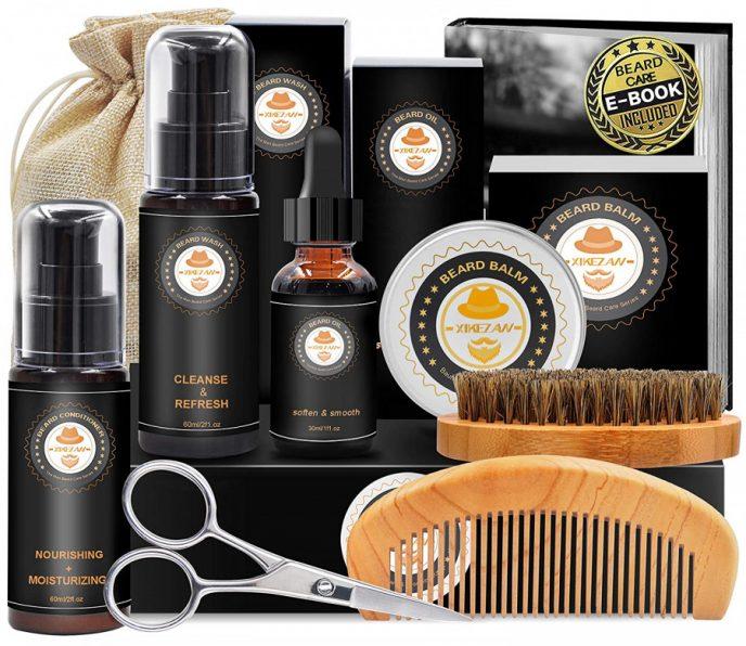Beard grooming kit gift pack