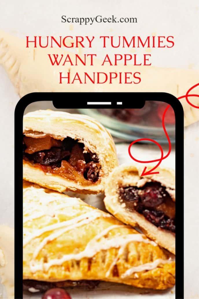 Apple turnover handpies recipe