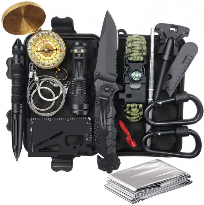 Outdoor survival kit Valentines Day gift for him