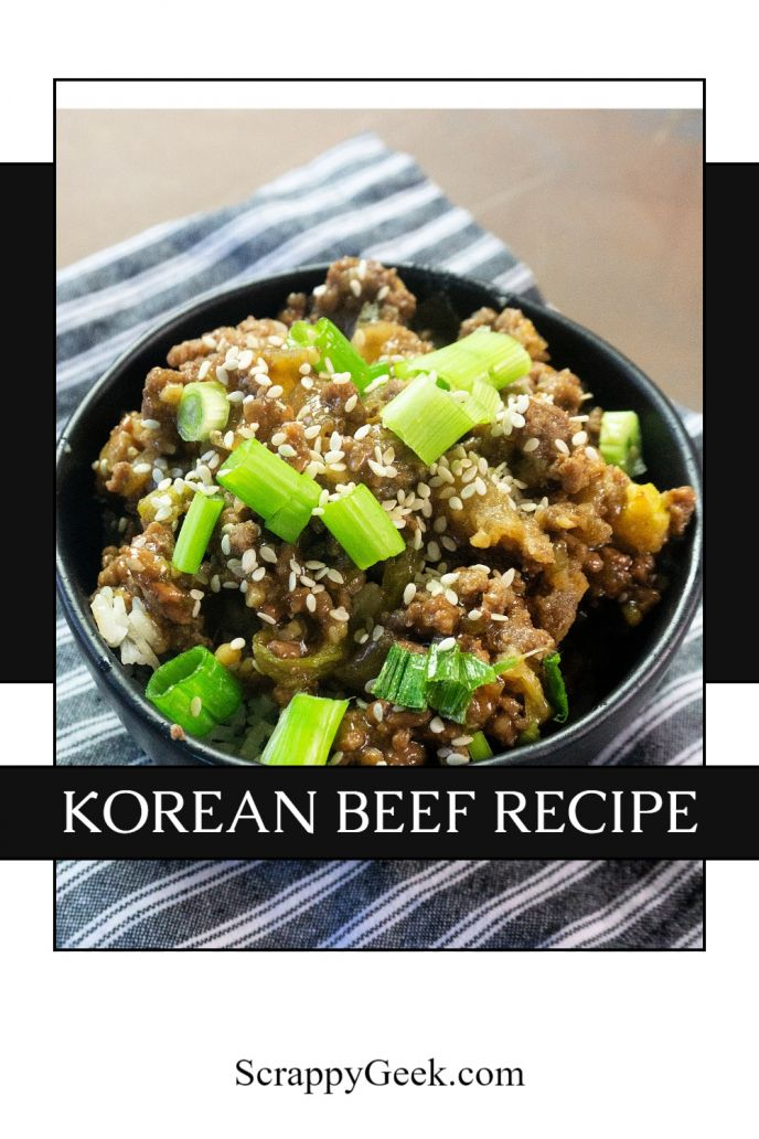 Korean Beef, an easy instant pot beef recipe to try.