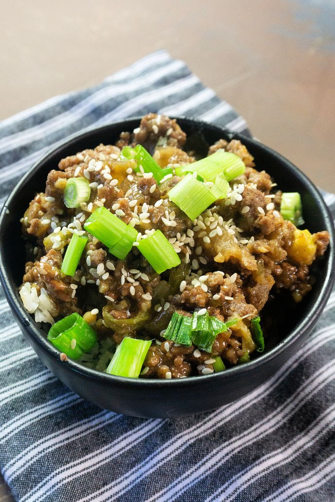 Easy Korean beef recipe made in the instant pot.