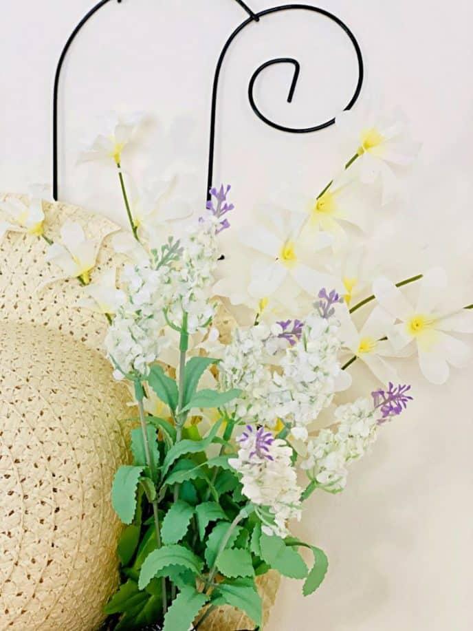 Flowers on trellis home decor