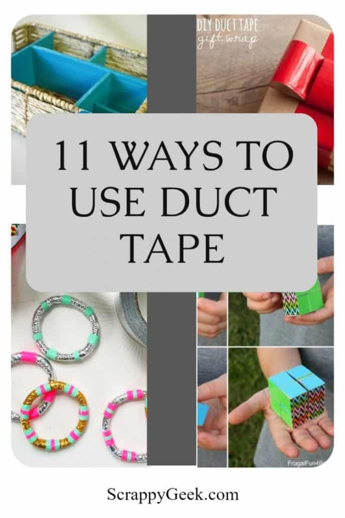 Decorative duct tape used for crafting and more.