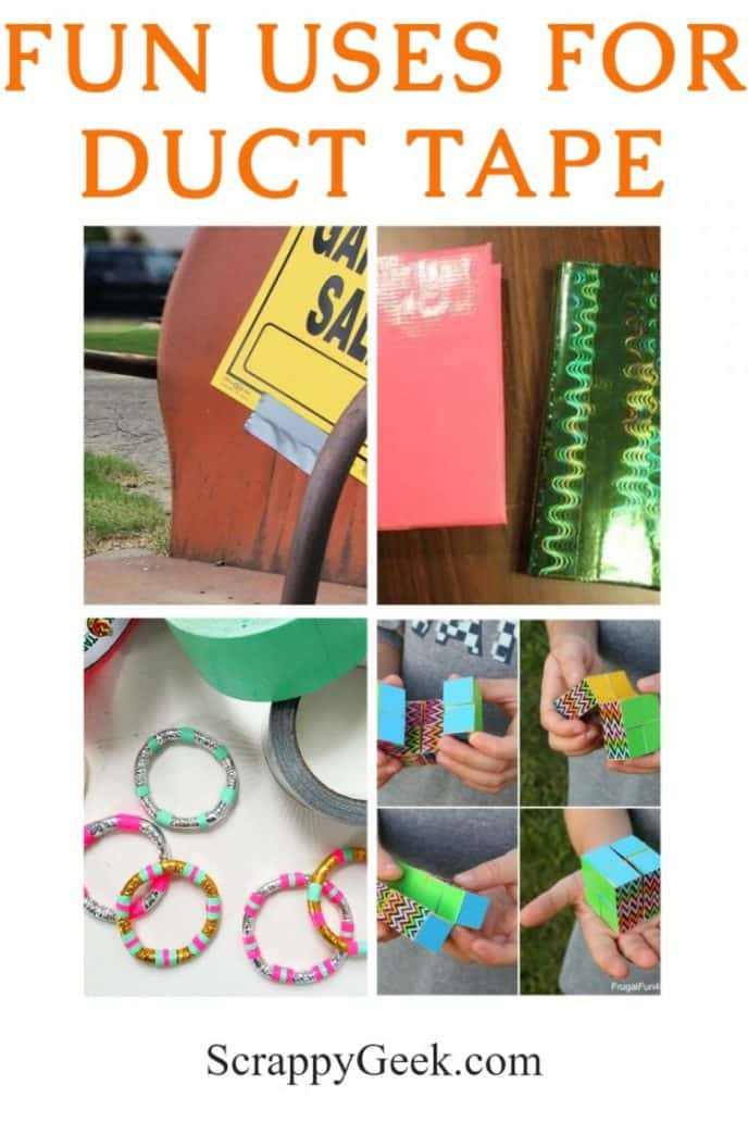Fun uses for duct tape you never would have thought of!