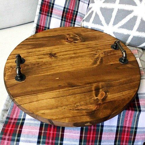 Easy DIY farmhouse serving tray