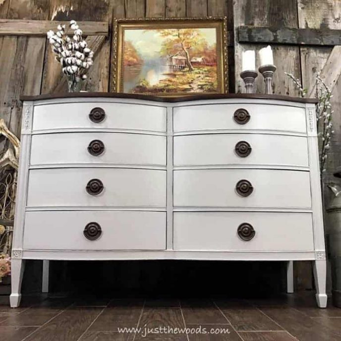 How to get farmhouse furniture paint finished perfectly